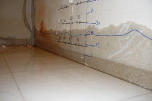 Bautrocknung bei Wasserschaden